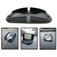 mattenhalter für telefon großhandel-1 TEILE / LOS Auto Anti Rutschfeste Pad Matte Skidproof Halter Stehen Schwarz Autotelefonhalter Für iPhone 7 7 Plus Handy GPS