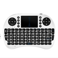 Wholesale Qwerty Keyboard Keys - hot selling qwerty bluetooth keyboard wireless i8 91 keys keyboard with English Spanish Russian Keyboard Mouse Touchpad for PC Notebook