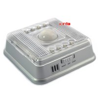 Wholesale Pir Led 15 - Eight super-bright LED Infrared PIR AUTO Sensor Light Lamp Motion Detector 0.25-APL01S order<$15 no tracking