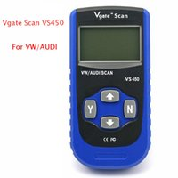 Wholesale Vw Can Usb - Vgate VS450 VAG CAN OBD2 OBDII ABS Airbag Immobilizer Diagnostics Scan Tool FOR VW Audi