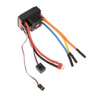 Wholesale Rc Battery 6v - FVT Wolf 2-6s LiPo Battery 120A Pro Electronic Speed Controller Brushless ESC with Switch Mode 6V 3A BEC for 1 8 1 10 RC Car order<$18no tra