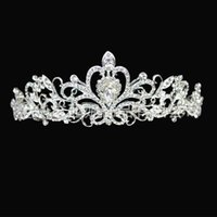 Wholesale Cheap Formals China - Wedding Head Pieces Hair Band Crown Girls Comb Tiaras Formal Clips Crystal Accessories 2016 China Cheap Price Jewelry