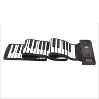 Wholesale Midi Keyboard Usb Piano - Wholesale-Electronic Portable Roll Up Piano USB Para PC MIDI Controller Keyboard Silicon Flexible 88 Key Teclado Controlador Instruments