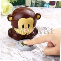 Wholesale Blow Monkey - 100% Brand New 1pcs Monkey Shape Hand Nail Art Tips Quick Blow Polish Dryer Blower Manicure