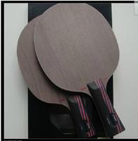 stiga carbo 7.6 großhandel-STIGA CARBO 7.6 Tischtennisschläger Roter und schwarzer King Carbon WRB Pingpong Balde
