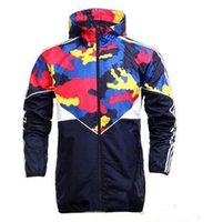 Wholesale Fall Color Trends - Fall-Hot ! New Men Jacket Spring Autumn Patchwork Reflective silm Jacket Sport Hip Hop Outdoor Waterproof Windbreaker Men Coat Trend Brand
