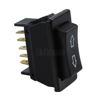 Wholesale Auto Power Windows - Free Shipping Universal DC 12V 20A Auto Car Power Window Switch 5-pin ON OFF SPST Rocker Black order<$18no track