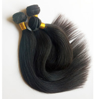 Wholesale staright hair for sale - Group buy Unprocessed Full cuticle aligned Brazilian virgin silky staright hair High end quality soft Indian Malaysian remy Hair Good ratio