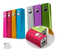 mini téléphone portable carré achat en gros de-2600mAh mini carré powerbank avec bouton interrupteur externe batterie mobile d'urgence portable chargeur de banque d'alimentation chargeur pour téléphone portable mp3 mp4