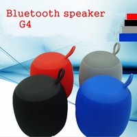 Wholesale Android Mini G4 - Wireless Stereo G4 Bluetooth Speaker Portable HIFI Subwoofer Aux In Speakers Outdoor Party plug-in Climbing Cycling IOS Android Phone