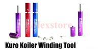 Wholesale Vapor Machine - Kuro Koiler Micro Coil Jig coiler metal Wrapping Coil Gig Builder Tool pocket handy machine For DIY RDA RBA Rebuildable Atomizer Vapor mod