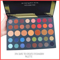 Wholesale Christmas Eyeshadow - Free Shipping by ePacket Newest HOLIDAY DARE TO CREATE 39A Eyeshadow Palette 39 Colors Christmas Eye shadow Powder Palette