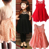 Wholesale Lolita Sexy - Phelfish New Design Girls Dresses Kids Clothes Girl Lace Slip Dress Sexy Summer Dresses