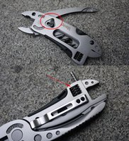 Wholesale Outdoor Jeep - JEEP Multi pliers Camping Tool wrench Folding Pliers Knife Outdoor Survival Hand Tools Stainless Steel Cycling Pliers MK0103