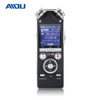 Recorder Pen All'ingrosso-AIDU A16 Mini Hidden Digital Audio suono vocale Pro HD MP3 Player Wiretap Gravador DE Voz Espia dittafono