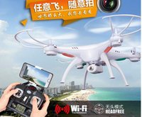 Origine Drones SYMA X5SW RC Drone FPV Hélicoptère Quadcopter HD 2.4G 6-Axis Real Time RC Toy Helicopter