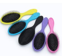 Wholesale combing hair shower - Hot Wet Dry Hair Brush Original Detangler Hair Brush Massage Comb With Airbags Combs For Wet Hair Shower Brush free DHL