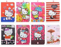Cartoon Smart Cover Housse en cuir pliant pour Pouch Mini Ipad 4 Mini4 7,9