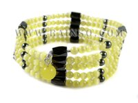 Wholesale Hematite Magnetic Wrap Bracelet - Wholesale-Free Shipping Rainso Promotion Wholesale Magnetic Hematite Bracelet Fashion Jewelry Wraps For Women OHL-002I 5pcs lot
