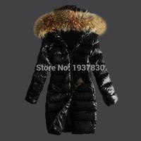 Wholesale Cheap Hooded Parka Coats - Winter Coat Women 2017 New Fashion Women's Casual Down Jacket Coats High Quality Outdoor Fur Collar Warm Long Down Parka cheap