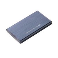 sdd sata toptan satış-Süper hızlı Metal 2.5 Inç USB 3.0 Harici Kılıf SATA HDD / SSD Sabit Disk Sürücüsü Muhafaza Kılıfları Ücretsiz kargo