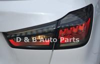 led kuyruk ışıkları fiyat toptan satış-Sıcak Satış Mitsubishi ASX 2012-2014 'Led Arka Işık Led Kuyruk Lambası Led Kuyruk Işık Işık Çubuğu Ile Düşük fiyat