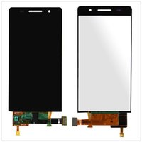 huawei p6 lcd touch großhandel-Großhandels-ursprüngliche volle LCD-Anzeige + Screen-Analog-Digital wandler Versammlung für Huawei steigen P6 4.7inch LCD-freies Verschiffen auf