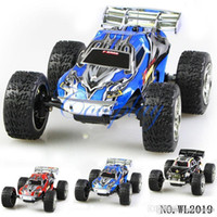 Wholesale Wholesale Rc Buggies - WLToys 2019 High speed RC Car Remote Control 2.4G RTF HOBBY Car speed to 25Kmh toys for kids
