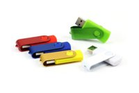 Wholesale High Quality Usb Stick - Hot 2015 Promotion pendrive 128GB for USB Flash Drive High quality quality new 128GB U Disk rotational style memory stick with Fedex