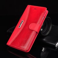 Wholesale Iphone Case Hybrid Vintage - For iphone 6 6S Plus 5.5 inch Exquisite Hybrid Wallet Leather Case With Stand Card Holder Vintage Flip Cover For iphone6