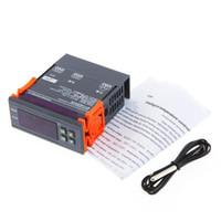 цифровой терморегулятор lcd оптовых-Бесплатная доставка цифровой ЖК термостат регулятор регулятор температуры термопары
