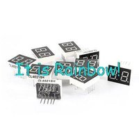 Wholesale-10 Stück rote LED 10 Pin DIP 2Bit 2-Digit Common Anode digital Rohr 0.39