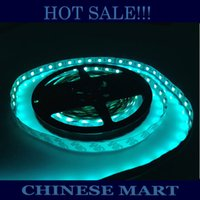 HK GRATIS !!! Commercio all'ingrosso 300 LED 5050 flessibile LED Strip RBG 60 LED / M Decorazione 80m / lot (16 Rolls x 5M / Roll) # LO48
