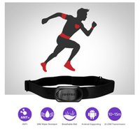Wholesale Ant Heart Rate - New Bluetooth 4.0 Wireless Heart Rate Monitor Outdoor Waterproof Sports Fitness Chest Strap Running Cycling ANT Smart Sensor