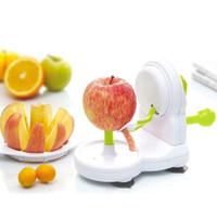 Wholesale Peel Fruit Machine - Brand Anself Practical Manual Fruit Peeler Zester + Apple Cutter Corer Peeling Machine Kitchen Accessories Tool