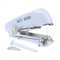Wholesale Sewing Machines For Sale - Hot Sale Mini Handy Stitch Cordless Handheld Sewing Machine For Travel For Home Supply
