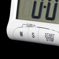 minutero al por mayor-Nuevo llega LCD Digital Kitchen Timer Countdown Cooking Timer Cuenta atrás Despertador