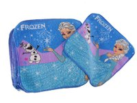 Wholesale Child Wash Face - Baby Cartoon Face Towel kids cartoon frozen elsa olaf frozen wash cloth cotton bath towel for children frozen face cloth