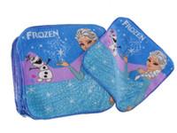 Wholesale Wholesale Baby Face Towel - Baby Cartoon Face Towel kids cartoon frozen elsa olaf frozen wash cloth cotton bath towel for children frozen face cloth