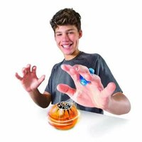 Wholesale Plastic Birthday Gifts - 4 Colors New Fingertips Magneto Spheres Decompression Magic Magnetic Ball Finger Toys Kids Birthday Gifts CCA7887 120pcs