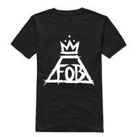 Wholesale Rock Band S - Wholesale-Free Shipping 2015 Fashion Fall out boy T Shirt band men t shirt man rock short sleeve hip hop T-shirt For 100% Cotton T-Shirt
