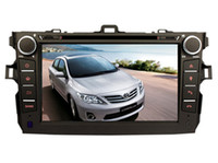 Wholesale Best Inch Screen Phone - 2017 new Wince 6.0 OS best selling car dvd Gps player for TOYOTA corolla 2010 2011 2009 bluetooth navi camera steering wheel control radio