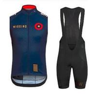 gel padded bib shorts 2018 - hot sale Wiggins Cycling Jersey 2015 pro team Sportswear bike Clothing Short sleeve+BiB Shorts Gel pad Wiggins Cycling vest