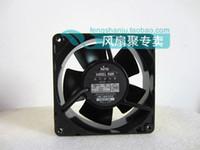fãs do metal japonês venda por atacado-Original japonês NTO PANEL FAN RD45-121 12 CM 100 V 16/15 W all-metal ventilador de refrigeração