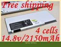 "Wholesale Original Price Laptops - Free shipping- [Special Price]New white original laptop battery For MSI 13"" X-Slim X320-037US X320-007CA X340 021US"
