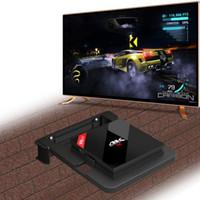 duvar için montaj braketi standı toptan satış-Android TV Kutusu Duvar Montaj Set Top Box Standı Mounts Dijital Braketi DVD Montaj Router H96 Pro + T95Z Artı CSA93 için Tutucu