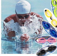 Wholesale Eyewear Glasses Nose - swimming goggles glasses with Ear Plugs & Nose Clip fashion Men Women children kids Swimming Pools Adjustable swimming Eyewear DHL Free