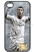 Wholesale Cristiano Ronaldo Iphone Cover - Hot selling original Cristiano Ronaldo CR7 Cell Phones Cover Case For Apple iphone 4 4s 5 5s 5c 6 6plus