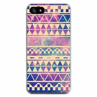 Wholesale Aztec Tribal Iphone Hybrid - Wholesale-1pc new fashional cool Aztec Tribal Tribe unique hybrid design case skin cover for apple iphone 5 5S colorful thin cases
