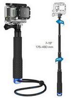 Wholesale Gopro Telescoping Extendable Pole - Hot Gopro Aluminum Extendable Pole Telescoping Handheld Monopod with Tripod Mount Adapter for GoPro Hero 1  2  3 3+ 4 SJ4000 #72